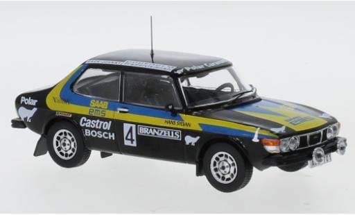 Saab 99 1/43 IXO EMS No.4 Rallye WM Rally Schweden 1977 S.Blomqvist/H.Sylvan miniature