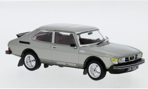 Saab 99 1/43 IXO Turbo Combi Coupe metallise grey 1977 diecast model cars