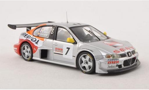 Seat Toledo 1/43 IXO GT No.7 Repsol 24h Spa Francorchamps 2003 miniature