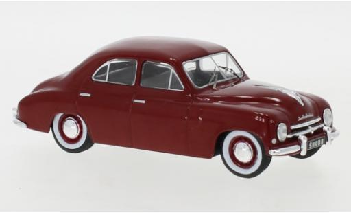 Skoda 120 1/43 IXO 0 rouge 1952 miniature