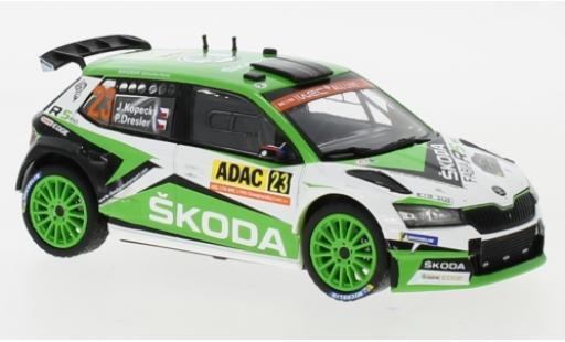 Skoda Fabia 1/43 IXO R5 EVO No.23 WRC2 Rallye Deutschland 2019 J.Kopecky/P.Dresler modellautos