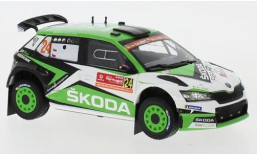Skoda Fabia 1/43 IXO R5 EVO No.24 Rallye WM Rally Portugal 2019 J.Kopecky/P.Dresler miniature
