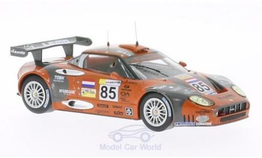 Aston Martin V8 Vantage GT2 1/43 IXO Spyker C8 Spyder GT2-R No.85 24h Le Mans 2007 A.Belicchi/A.Caffi diecast model cars