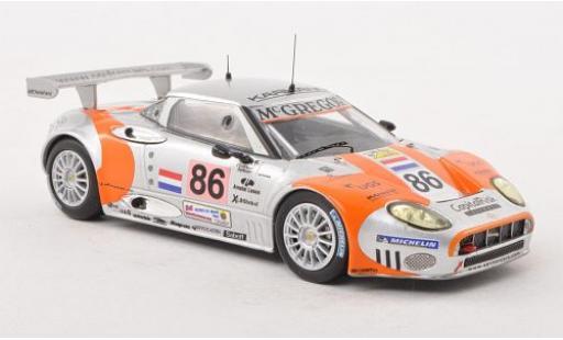 Aston Martin V8 Vantage GT2 1/43 IXO Spyker C8 Spyder GT2-R No.86 24h Le Mans 2006 J.Bleekemolen/M.Hezemans/J.Kane miniature