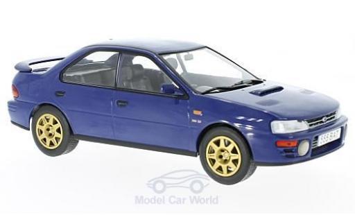 Subaru Impreza WRX 1/18 IXO bleue RHD 1995 miniature