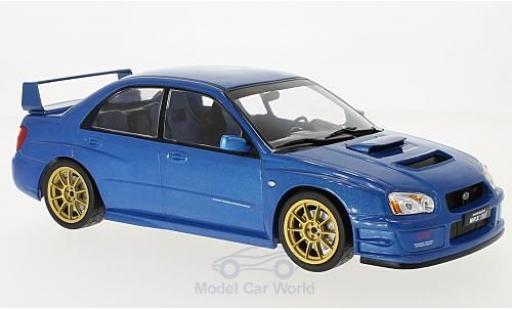 Subaru Impreza STI 1/18 IXO WRX STI metallic-bleue 2003 miniature