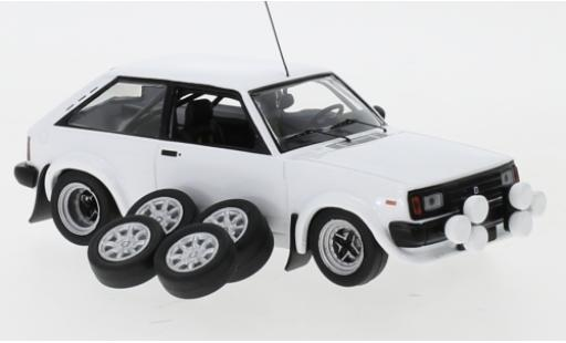 Talbot Sunbeam 1/43 IXO Lotus white 1979 Plain Body Version y compris les 4 Ersatzräder et extra Scheinwerfer diecast model cars