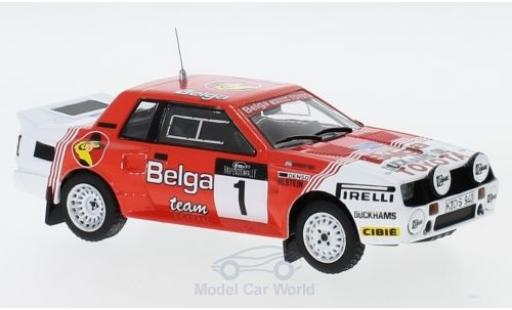 Toyota Celica 1/43 IXO TwinCam Turbo (TA64) No.1 Team Europe Belga Haspengouw Rallye 1985 J.Kankkunen/F.Gallagher miniatura