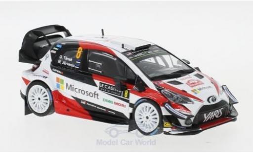 Toyota Yaris 1/43 IXO WRC No.8 Microsoft Rallye WM Rallye Monte Carlo 2018 O.Tänak/M.Järveoja modellautos