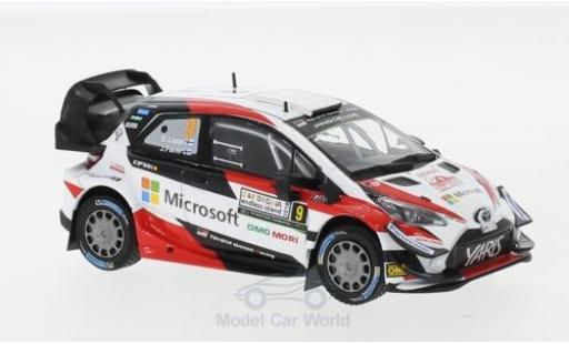 Toyota Yaris 1/43 IXO WRC No.9 Microsoft Rallye WM Rallye Italien 2018 E.Lappi/J.Ferm modellautos