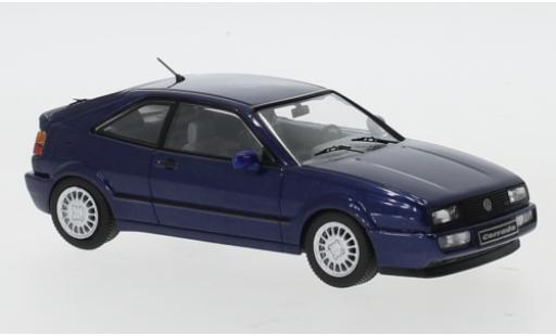 Volkswagen Corrado 1/43 IXO G60 metallise blau 1989 modellautos