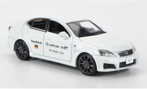 Lexus IS 1/43 J Collection -F Nürburgring 2009 VIP-Renn-Taxi T.Glock diecast model cars
