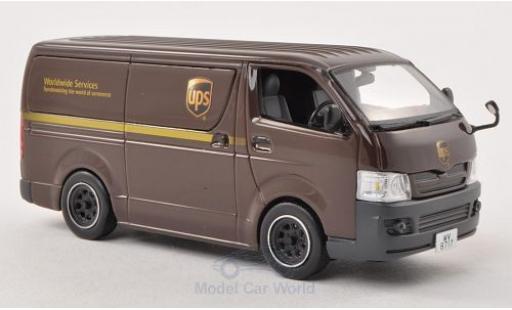 Toyota Hiace 1/43 J Collection Van RHD UPS (HK) 2007 miniature