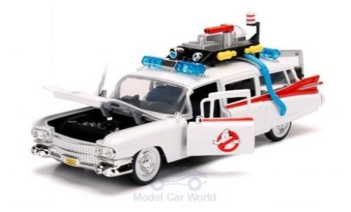 Cadillac Series 62 1/24 Jada Ecto-1 Ghostbusters ca. 1:27 miniature