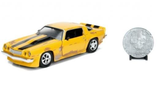 Chevrolet Camaro 1/24 Jada Transformers Bumblebee 1977 modellino in miniatura