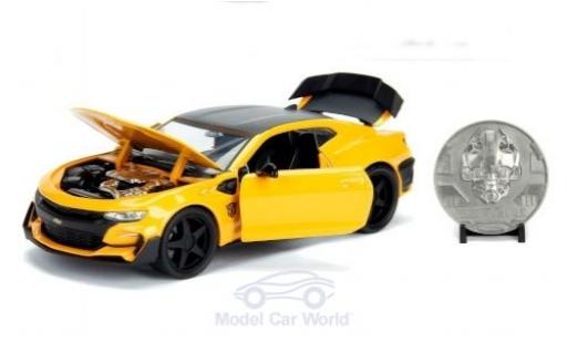 Chevrolet Camaro 1/24 Jada Transformers Bumblebee 2016 miniature
