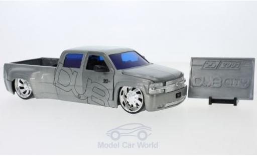 Chevrolet Silverado 1/24 Jada Toys Toys Toys Toys Dooley grey 1999 diecast model cars