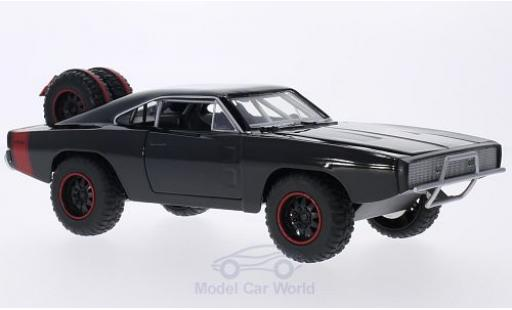 Dodge Charger 1/24 Jada R/T Off Road noire/rouge Fast & Furious 1970 Doms Offroad miniature
