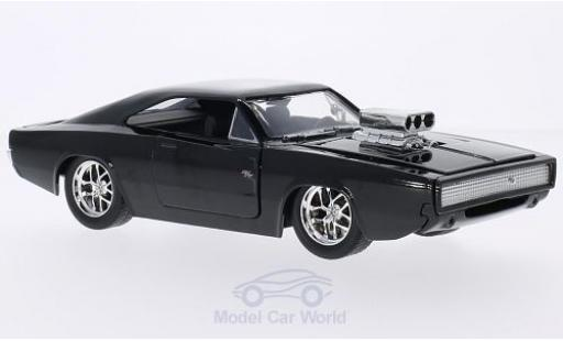 Dodge Charger 1/24 Jada R/T noire Furious 7 1970 Tuning miniature