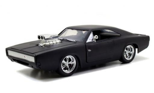 Dodge Charger 1/24 Jada R/T Tuning matt-black Fast & Furious Doms R/T diecast model cars