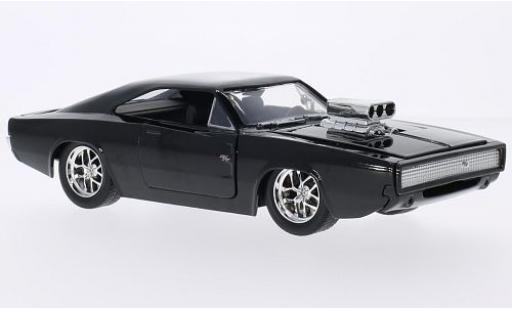 Dodge Charger 1/24 Jada R/T Tuning black Fast & Furious 1970 diecast model cars
