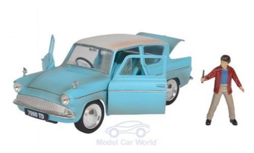 Ford Anglia 1/24 Jada Toys Toys Toys Toys RHD Harry Potter 1959 mit Figur diecast model cars