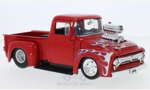 Ford F-1 1/24 Jada Toys 00 rouge/Dekor 1956 miniature