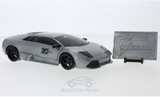 Lamborghini Murcielago 1/24 Jada Toys Toys Toys Toys grise miniature