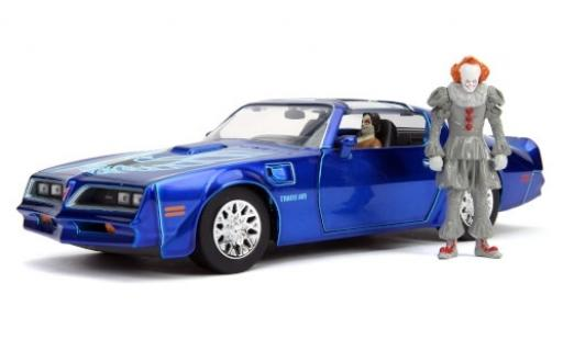 Pontiac Firebird 1/24 Jada Trans Am It - Chapter Two 1977 mit Figuren miniature