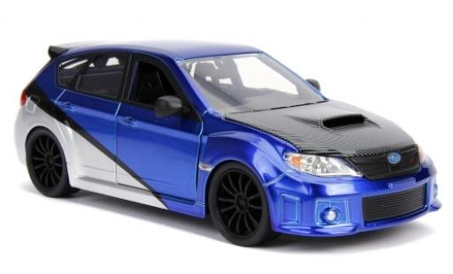 Subaru Impreza 1/24 Jada WRX STi Tuning bleue/grise Fast & Furious 2012 miniature