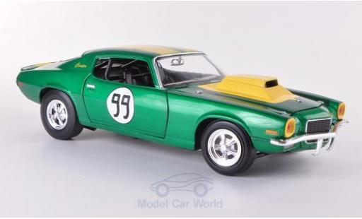 Chevrolet Camaro RS 1/18 Johnny Lightning 350 No.99 1970 The Dukes of Hazzard - Cooters Chevy miniature