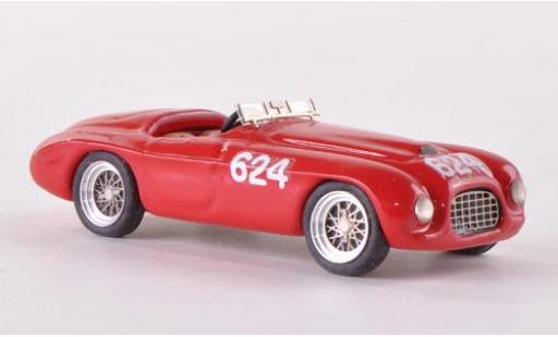 Ferrari 166 1/87 Jolly Model MM No.624 Mille Miglia 1949 sans Vitrine miniature