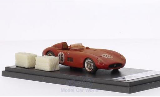 Maserati 300 1/43 Jolly Model S RHD No.16 24h Le Mans 1955 Fahrzeug mit Rennspuren inklusive 2 Strohballen L.Musso/P.Valenzano miniature
