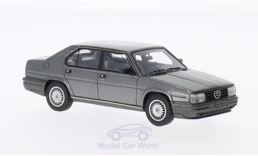 Alfa Romeo 90 1/43 Kess Alfa Quadrifoglio Oro metallico grigio 1984 miniatura