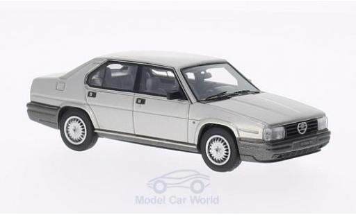 Alfa Romeo 90 1/43 Kess Alfa Quadrifoglio Oro grigio 1984 miniatura