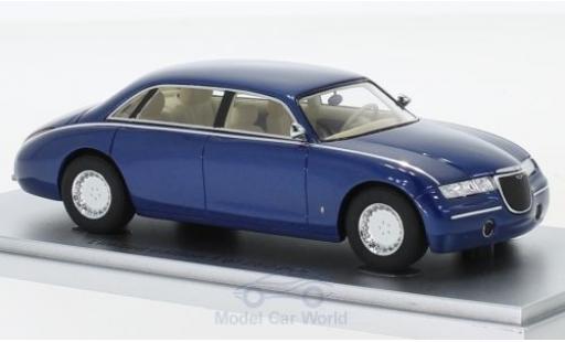 Aston Martin Lagonda 1/43 Kess Vignale mettalic blau 1993 modellautos