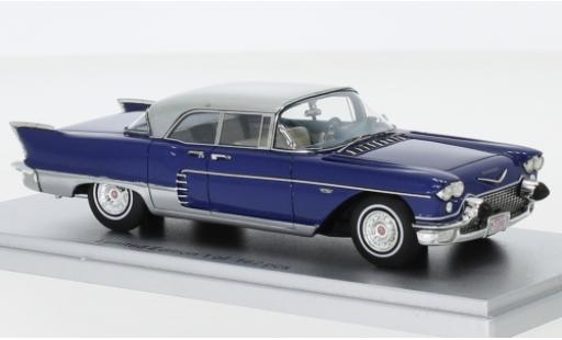 Cadillac Eldorado 1/43 Kess Brougham metallise bleue/grise 1957 miniature