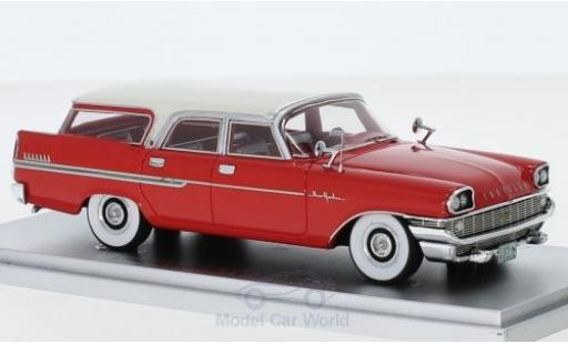 Chrysler New Yorker 1/43 Kess Town & Country Wagon rouge/blanche 1958 miniature