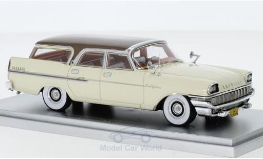 Chrysler New Yorker 1/43 Kess Town & Country Wagon blanche/marron 1958 miniature
