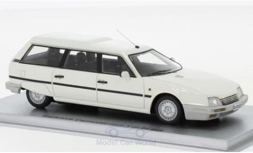 Citroen CX 1/43 Kess 25 TRD Turbo 2 Break blanche 1986 miniature
