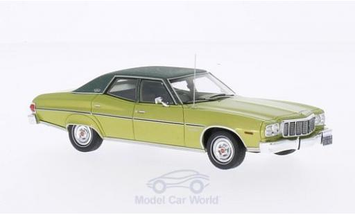 Ford Gran Torino 1/43 Kess Brougham metallise green/green 1976 diecast model cars