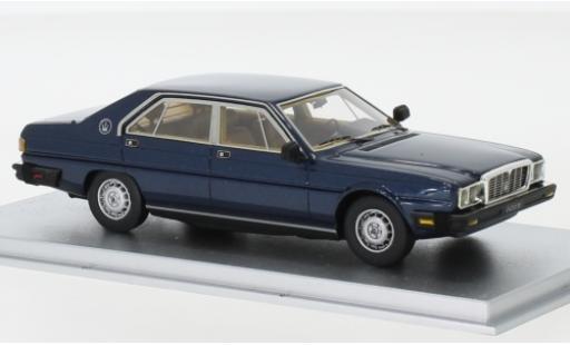 Maserati Quattroporte 1/43 Kess III 4.9 metallise blue 1983 diecast model cars