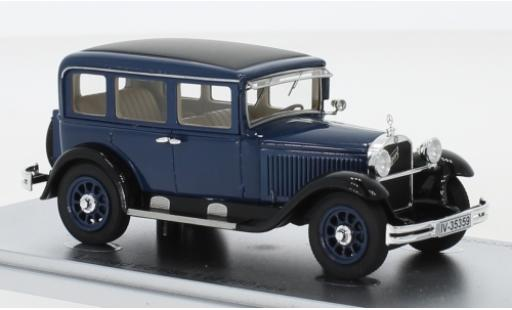 Mercedes 260 1/43 Kess Typ 10/50 Stuttgart (W11) blue/black 1929 diecast model cars