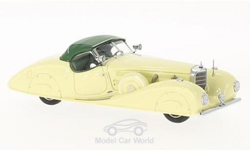 Mercedes 540 1/43 Kess K (W29) Stromlinien Roadster Erdmann & Rossi jaune/verte King Ghazi of Iraq 1936 miniature