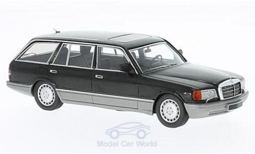 Mercedes 560 1/43 Kess TEL Kombi (W126) noire 1990 miniature