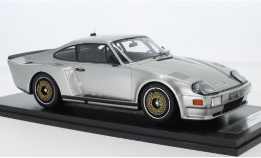 Porsche 993 Turbo 1/18 Kess 911 (930) Biturbo 3.3 Almeras grise 1 miniature