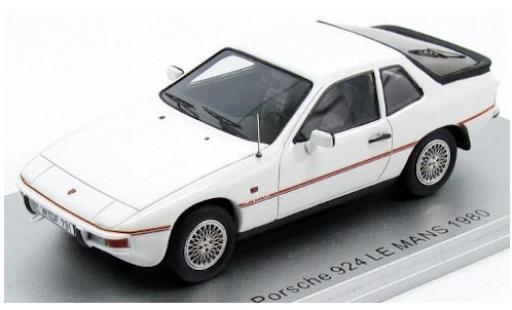 Porsche 924 1/43 Kess Le Mans white 1980 diecast model cars