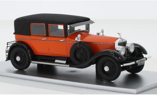Rolls Royce Silver Ghost 1/43 Kess Tilbury Sedan by Willoughby red/black 1926