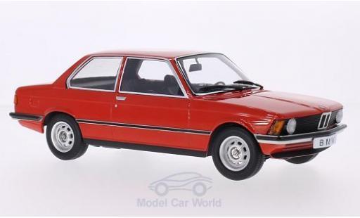 Bmw 318 E21 1/18 KK Scale i  rosso 1975 Türen und Hauben sind nicht zu öffnen modellino in miniatura