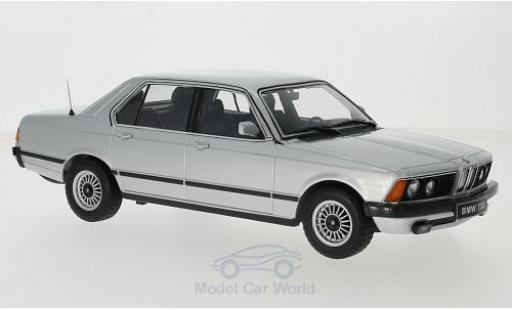 Bmw 733 1/18 KK Scale i (E23) grigio 1977 Türen und Hauben sind nicht zu öffnen modellino in miniatura